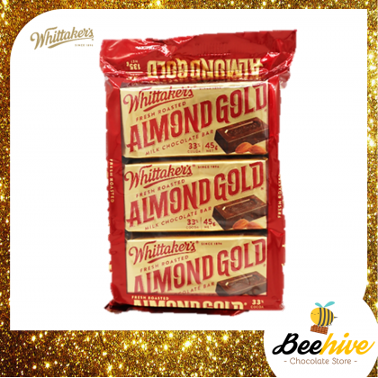 Whittaker's Almond Gold Chocolate 135g