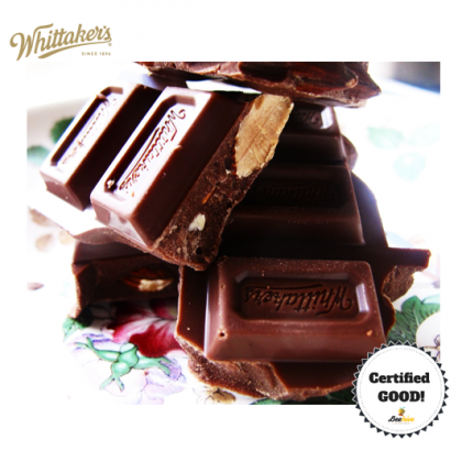 Whittaker's Roasted Almond Gold Milk Chocolate 135g