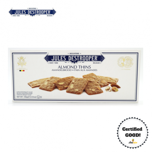Jules Destrooper Almond Thins Biscuit 100g