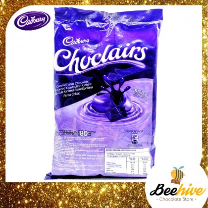 Cadbury Choclairs Caramel with Chocolate 180pcs