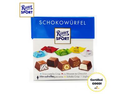 Ritter Sport Happy Birthday Schokowurfel 176g 22pcs