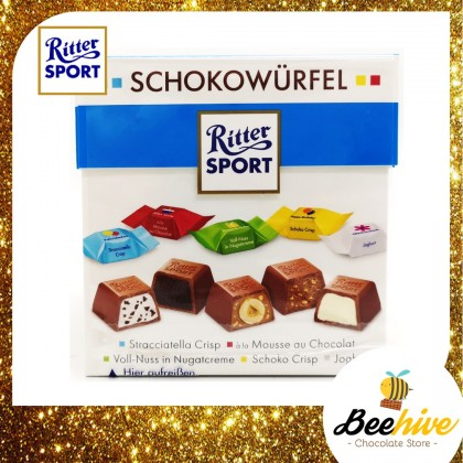 Ritter Sport Choco Cubes Happy Birthday Schokowurfel 176g 22pcs