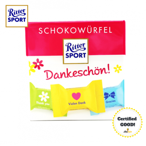 Ritter Sport Thank You Schokowurfel 176g 22pcs