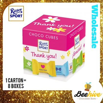 Ritter Sport Choco Cubes Thank You Chocolate 176g 22pcs