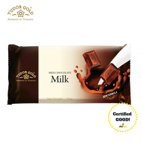 Tudor Gold Milk Chocolate 180g