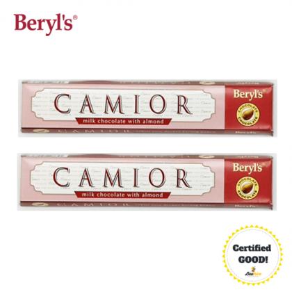 Beryls Camior Milk Chocolate with Almond 2x50g (Expiry: 30 June 2021)