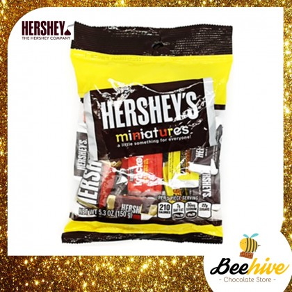 Hersheys Miniatures Chocolate 150g