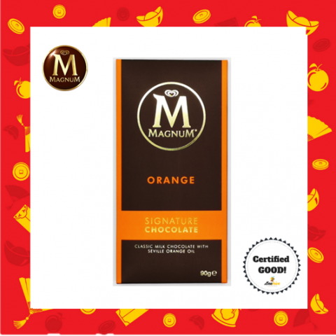 Magnum Signature Milk Chocolate with Seville Orange 90g