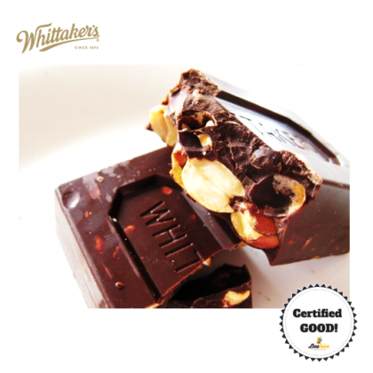 Whittakers Peanut Slab Milk Chocolate 3x50g