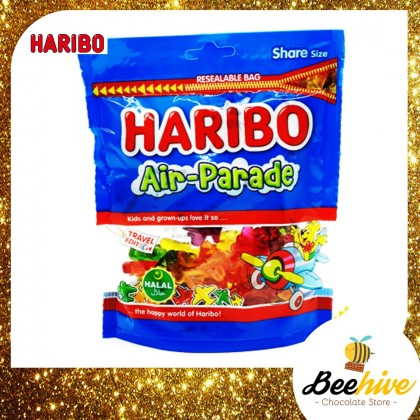 Haribo Air Parade Gummy Candy 300g