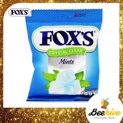 Foxs Crystal Clear Mints Candy 90g