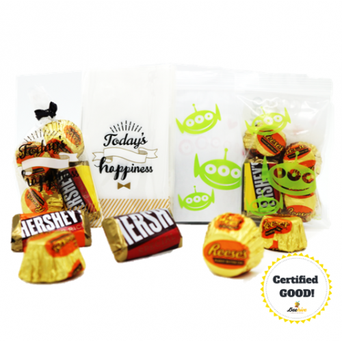 Beehive Hersheys Miniature and Reese Buttercup Chocolate Door Gift Pack