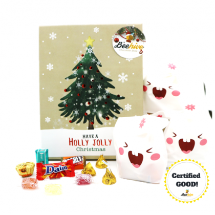 Beehive Christmas Chocolate Goody Gift Set [1 Bag]