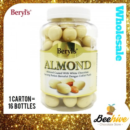 Beryls Almond Coated with White Chocolate 450g