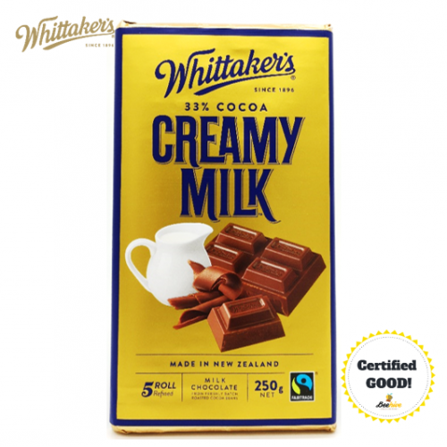 Whittakers Creamy Milk Chocolate 33% Cocoa 250g