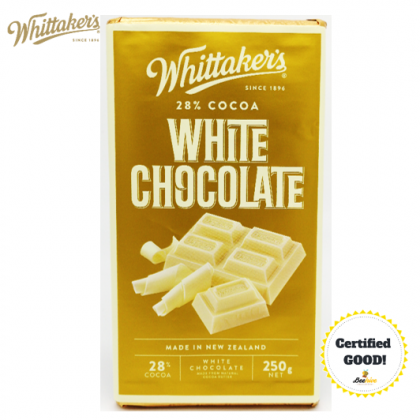 Whittakers White Chocolate 28% Cocoa 250g