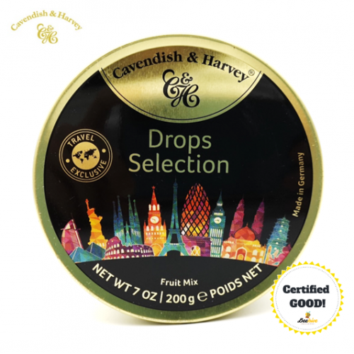 Cavendish and Harvey Fruit Mix Drops Selection 200g