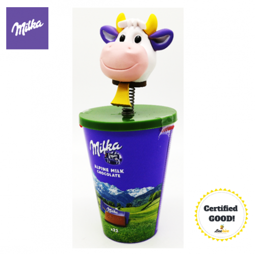 Milka Cow Lila Toy with 22pieces Alpine Milk Chocolates