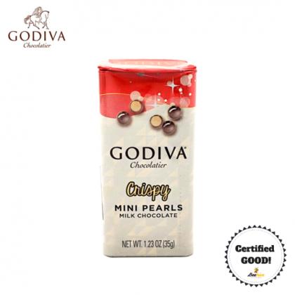 GODIVA Crispy Mini Pearls Milk Chocolate 35g (Expiry: 27/11/21)