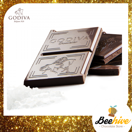 GODIVA 50% Dark Chocolate Sea Salt 100g