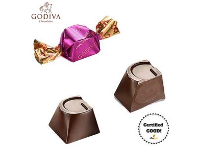 GODIVA G Cube Dark Chocolate 175g