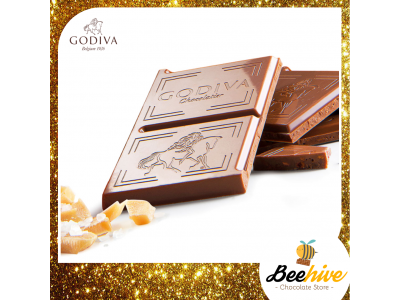 GODIVA 31% Cacao Salted Caramel Milk Chocolate 100g