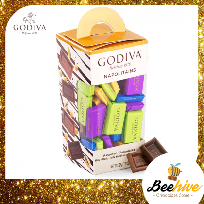 GODIVA Tower Napolitains Chocolate 225g (Assorted Flavours)