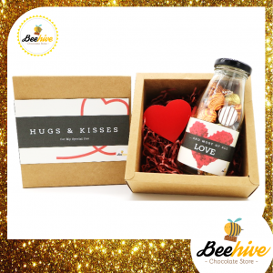 Beehive Hugs & Kisses Surprise Gift Box