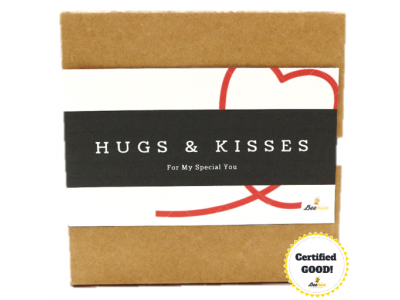 Beehive Hugs & Kisses Surprise Gift Box *FREE Note Writing*
