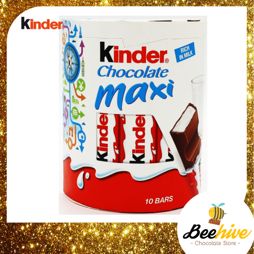 Kinder Chocolate Maxi Rich in Milk 10 bars 210g
