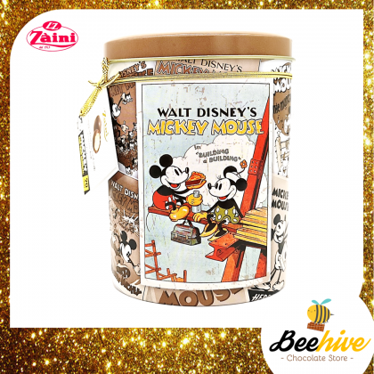 Zaini Chocolates in Mickey Mouse Tin Collection 100g