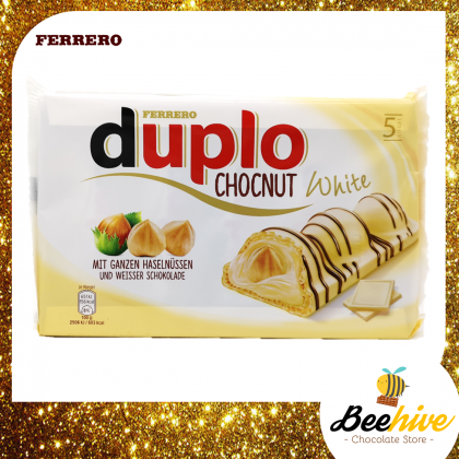 Ferrero Duplo Chocnut White Chocolate with Hazelnuts 5x26g