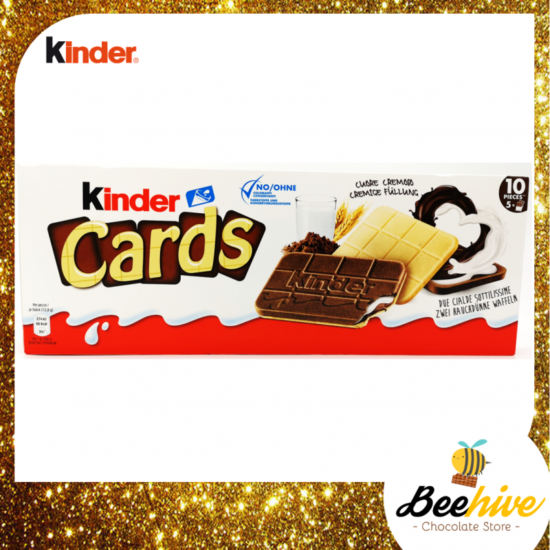 Kinder Cards Chocolate 128g