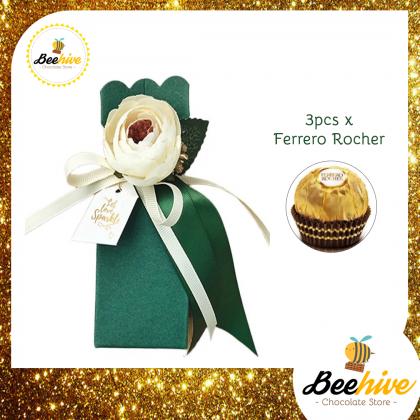 Beehive Emerald Green Premium Chocolate Gift Set