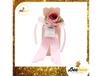 Beehive Sweet Pink Chocolate Surprise Gift Set