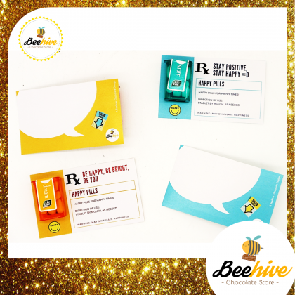 Beehive Spearmint / Mint Tic Tac Mini Happy Pills Surprise Gift