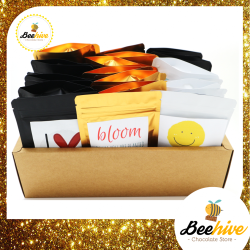 Beehive 30 Days of Joy Chocolate Snack Surprise Gift Set