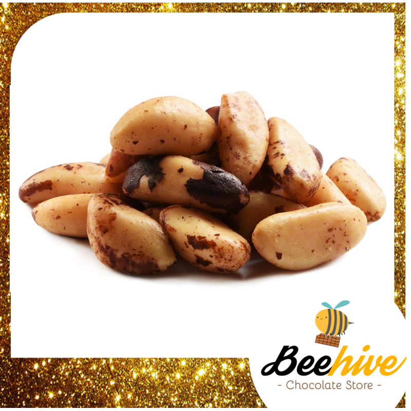 Beehive Healthy Snack Roasted Brazil Nuts 100g - 160g
