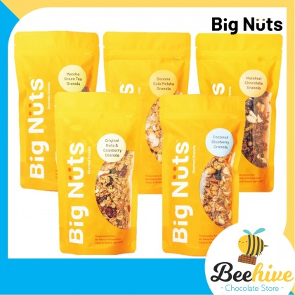 Big Nuts Healthy Snack Granola Banana Gula Melaka 200g