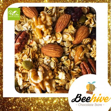 Big Nuts Healthy Snack Granola Original & Cranberries 200g [Halal]
