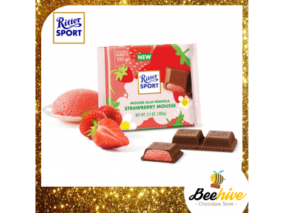 Ritter Sport Strawberry Mousse Chocolate 100g