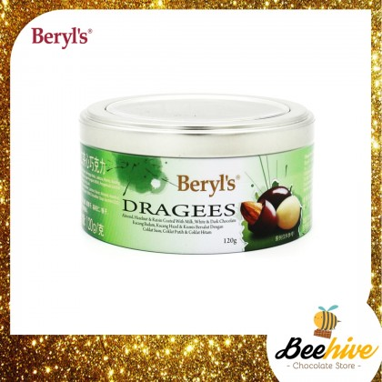 Beryl's Dragees Chocolate 120g