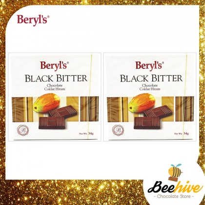 Beryls Black Bitter Chocolate 2x34g