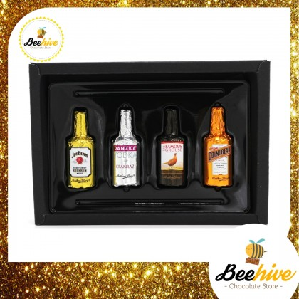 Beehive Anthon Berg Chocolate Liquor Black Gift Box