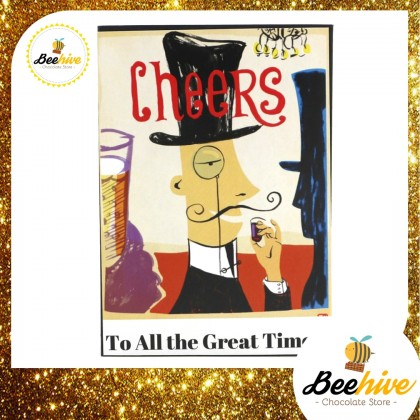 Beehive Anthon Berg Chocolate Liquor Black Gift Box