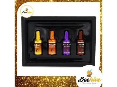 Beehive Anthon Berg Chocolate Coffee Liquor Black Gift Box